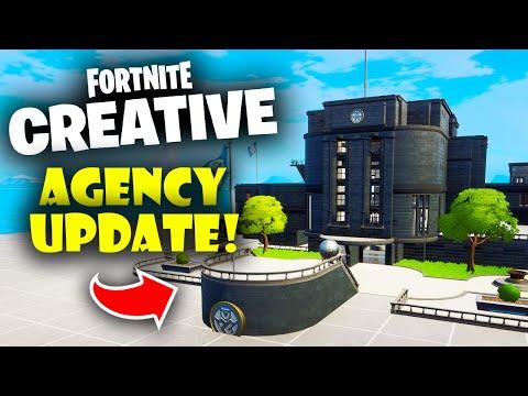 Fortnite Creative Agency Update is FINALLY Here!