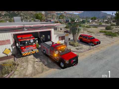 GTA 5 FiveM | TECF RP | #35 Volunteer Firefighter and EMS