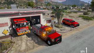 Video GTA 5 FiveM | TECF RP | #35 Volunteer Firefighter and EMS download MP3, 3GP, MP4, WEBM, AVI, FLV November 2018