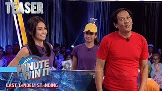 Minute To Win It - Last Tandem Standing September 3, 2019 Teaser