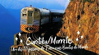 Passeio de Trem de Luxo - Litorina- De Morretes/PR até Curitiba/PR