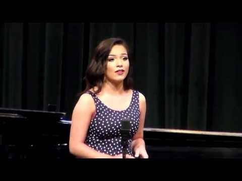 Ally sings