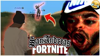 FORTNITE IN SAN ANDREAS FREE UPDATE 2018??? (San Andreas Mods) | MrFelixBurns