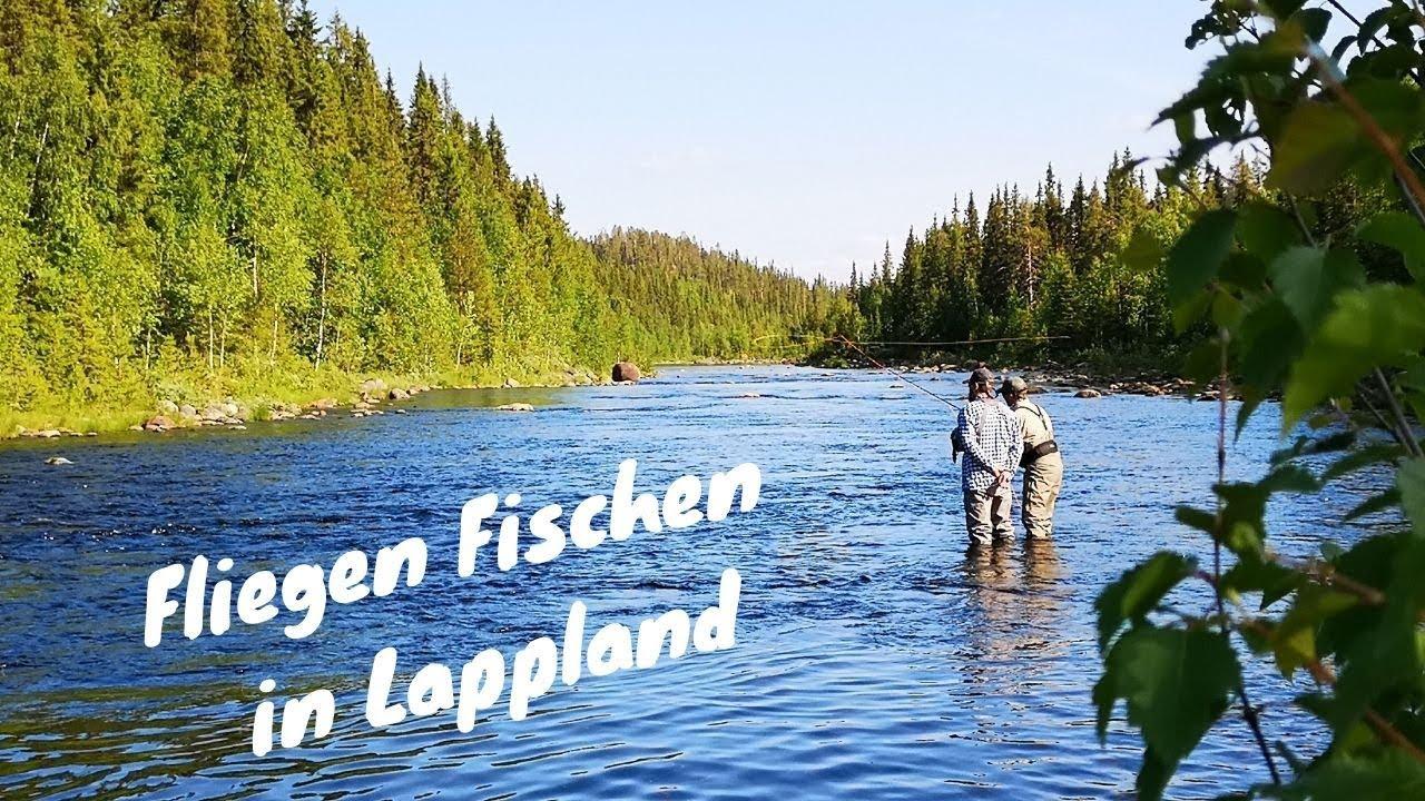 Fliegen Fischen in Lappland! Wer hat Lust auf einen Kurs?