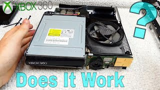 DOES IT WORK?!? Cleaning the XBOX 360 SLIM I Game Inside?