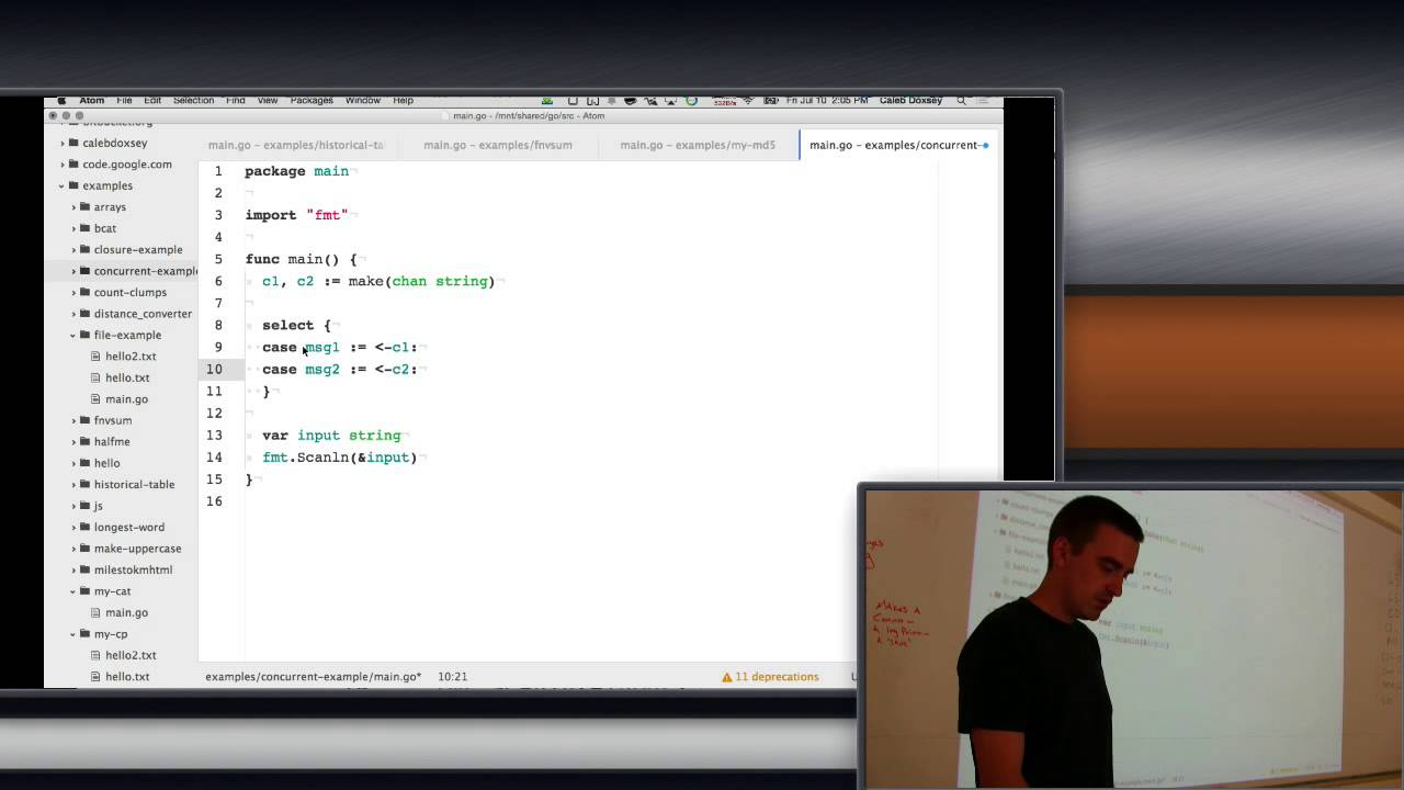 Golang Channels - YouTube