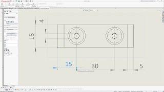 Solidworks. Урок 11. Оформление размеров и стиль размерных стрелок - создание чертежа