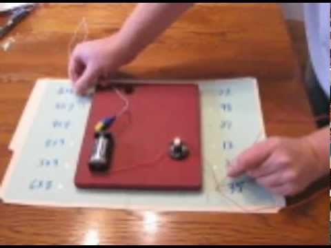 Part 1 of 2: How to Make an Electronic Matching Game -- The Game Board