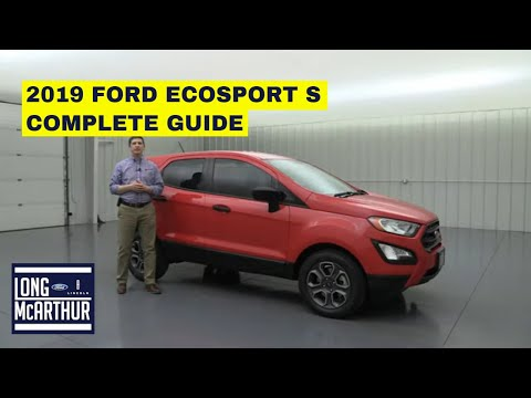 2019 FORD ECOSPORT S COMPLETE GUIDE STANDARD AND OPTIONAL EQUIPMENT