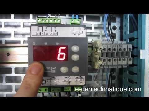 Froid83-Régulateur MR4 Fonctionnement et paramétrages-chambre froide négative