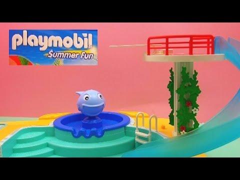 Playmobil summer fun schwimmbad demo vater und sohn - Piscina playmobil amazon ...