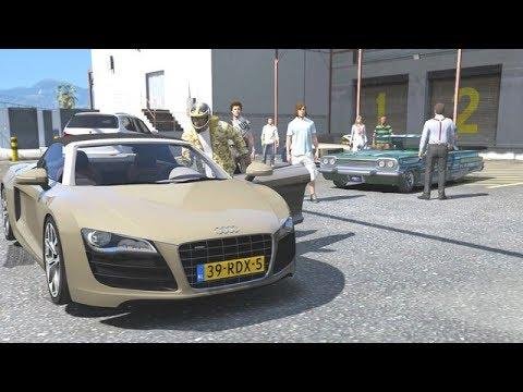 GTA 5 - COURSES DE VOITURES - AUDI R8 - CARRIERE AUTOMOBILE #6