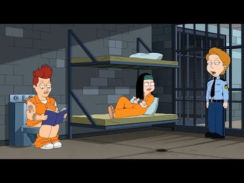 American Dad - Hayley Goes To Jail