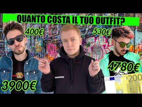 QUANTO COSTA IL TUO OUTFIT? *video economico* | Matt & Bise