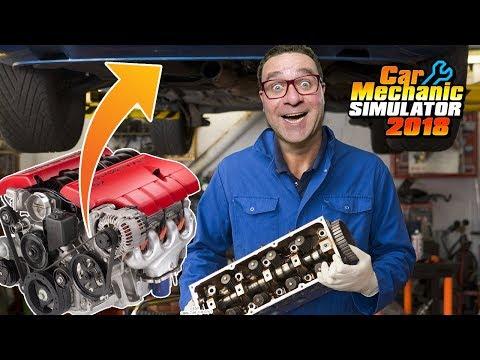 DESMANCHEI O MOTOR DO CHEVROLET | #14 | Car Mechanic Simulator 2018