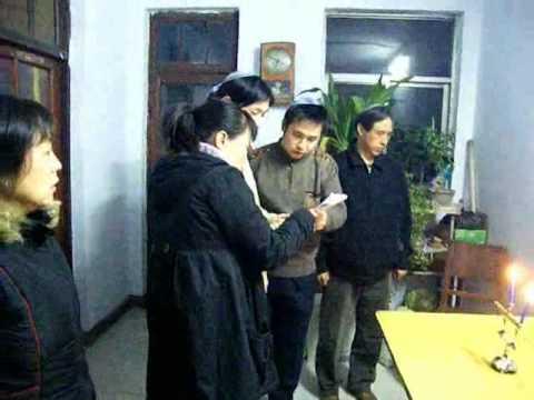 Kaifeng Chinese Jews celebrate Chanukah
