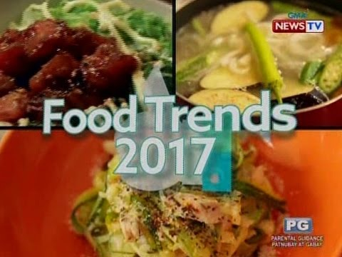 Good News: Food Trends 2017