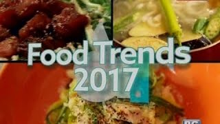 Good News: Food Trends 2017