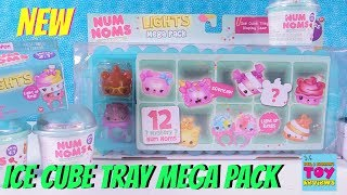 Num Noms Lights Mega Ice Cube Tray Pack Series 4 Toy Review Opening | PSToyReviews
