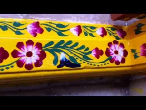 Kadapa muggu youtube for Door entrance rangoli designs