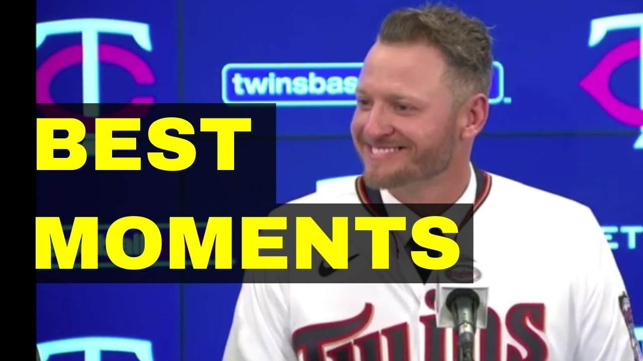 order online new styles pretty nice Highlights of Josh Donaldson's Press Conference With The Minnesota ...