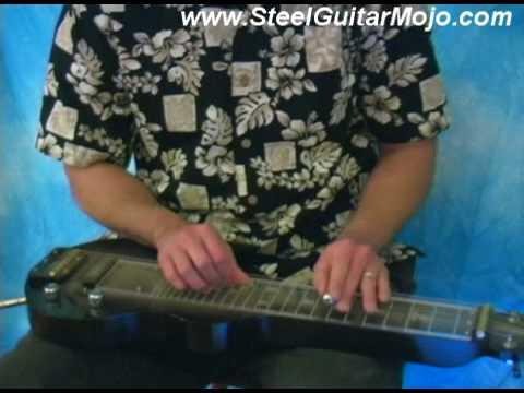 Harbor Lights Played On C6 Lap Steel Guitar