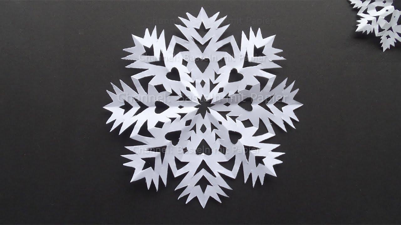 Recyclables Blog Schneeflocken Basteln Mit Papier Im Winter