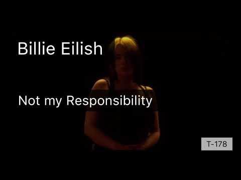 Billie Eilish – Not my Responsibility