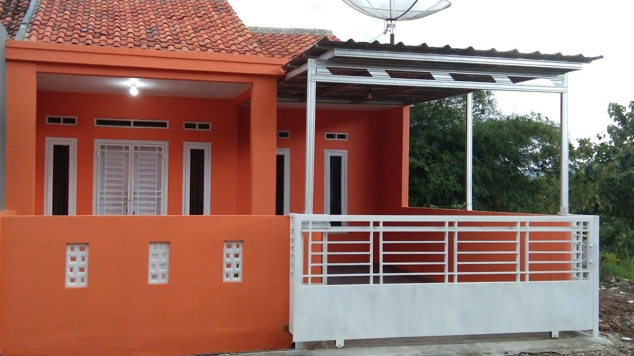 Rumah type 36/72 Full Renovasi | Desain Menarik - YouTube