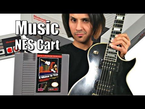 World's First NES MUSIC Cartridge - Full Album, Real Digital Audio & Not 8Bit!!