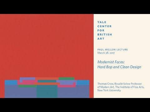 "Paul Mellon Lecture | ""Modernist Faces: Hard Bop and Clean Design"""