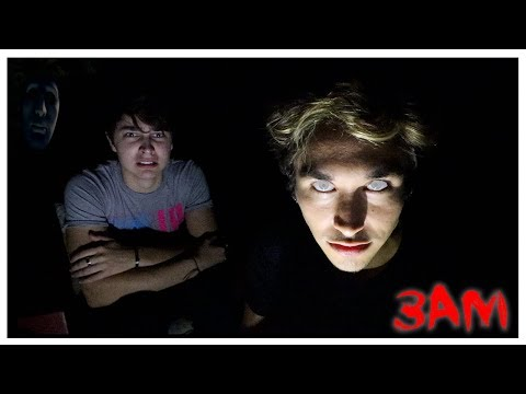 DO NOT TELL SCARY GHOST STORIES AT 3AM! (DEMON VOICE CAUGHT)