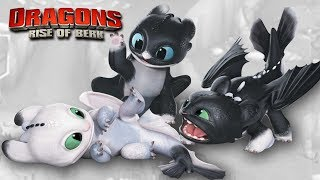NIGHT LIGHTS BABIES!!! - DRAGONS : Rise Of Berk | Ep25 HD