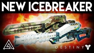 Destiny Rise of Iron | How to Get Icebreaker Year 3 Exotic Sniper & New Gameplay!