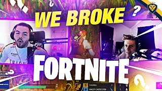 WE BROKE FORTNITE! THIS LOST US THE GAME! (Fortnite: Battle Royale)