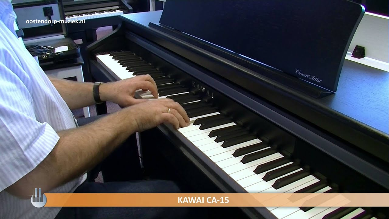 kawai ca15 digital piano homepiano sounddemo youtube. Black Bedroom Furniture Sets. Home Design Ideas