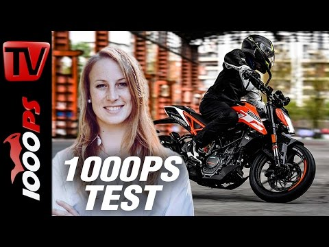 1000PS Test | KTM 125 Duke - Top Speed - Sound - Review