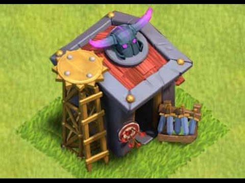 Clash of Clans Upgrade barracks level 10 (Unlock's warrior PEKKA)