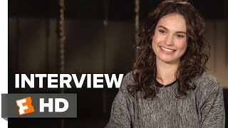 Pride and Prejudice and Zombies Interview - Lily James (2016) - Horror Movie HD