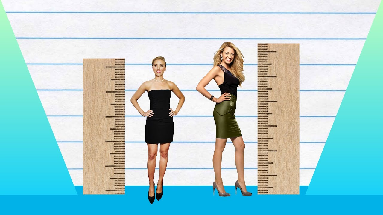 How Much Taller? - Scarlett Johansson vs Blake Lively ...