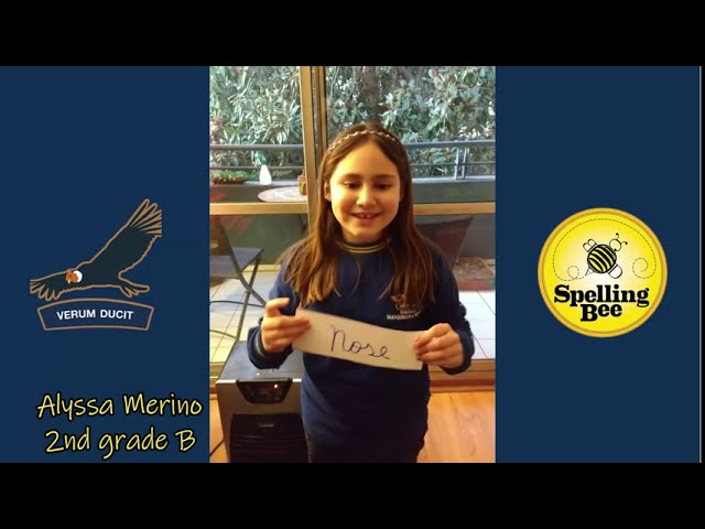 Spelling Bee First Places - Manquecura Ñuñoa