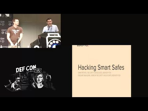DEF CON 23 (2015) - Hacking Smart Safes - On the Brink of a Robbery - 08Aug2015