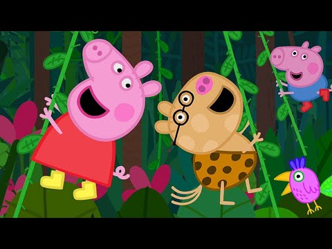 Kids TV and Stories 🎵 Peppa Pig's Holiday Jungle Song | Peppa Pig Full Episodes