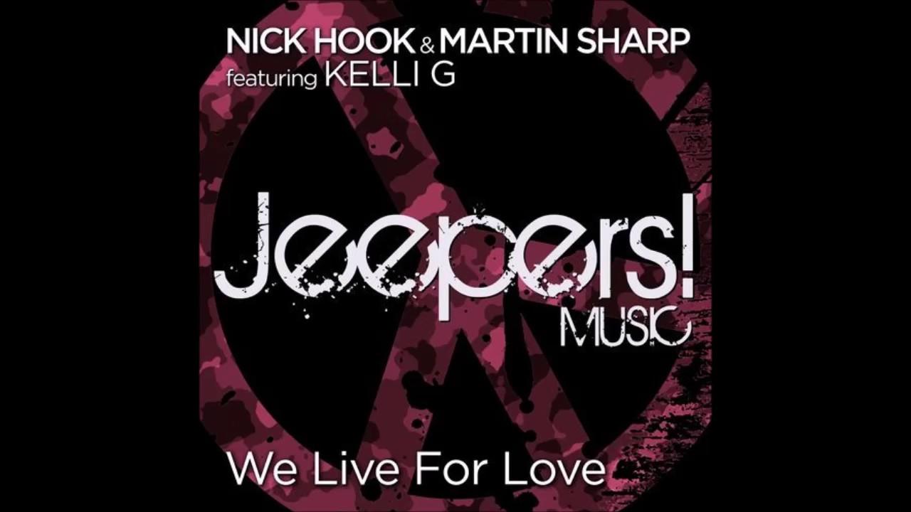 Nick Hook - We Live for Love