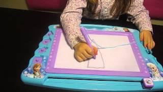 Frozen Pizarra magnética - Frozen magic slate - Disney