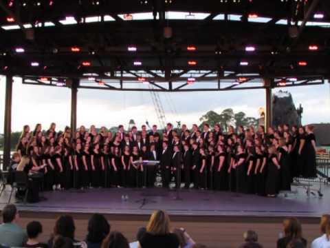 SHS Chorus at the Disney Waterfront