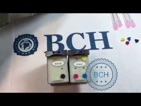 2 Key Rules to Use BCH Integrated Refillable Cartridge for HP