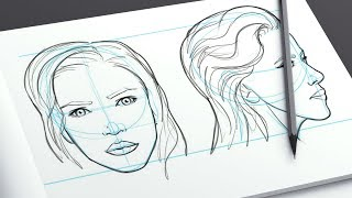 How To Draw Faces - By Ed Foychuk (Trailer)