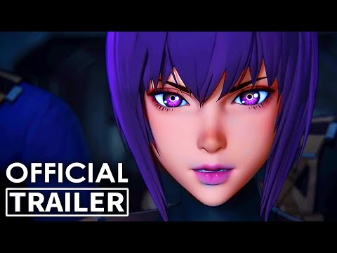 GHOST IN THE SHELL: SAC 2045 Trailer 2 (Animation Movie, 2020) NEW