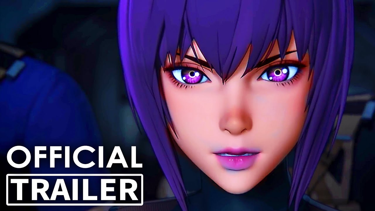 Ghost In The Shell Sac 2045 Trailer 2 Animation Movie 2020 New Youtube
